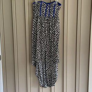 Xhilaration Strapless High-Low Dress
